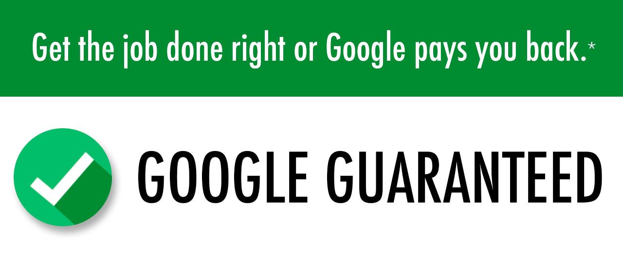 Google Guaranteed Contractor Logo